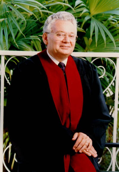 <p>Judge Thomas Buergenthal, member of the Inter-American Court of Human Rights, San Jose, Costa Rica, 1980.</p>