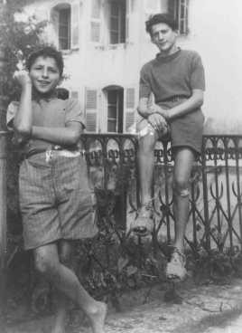 These Jewish children from the Children's Aid Society (OSE) home in Izieu were arrested and deported on the orders of Lyon Gestapo ... [LCID: 73846]