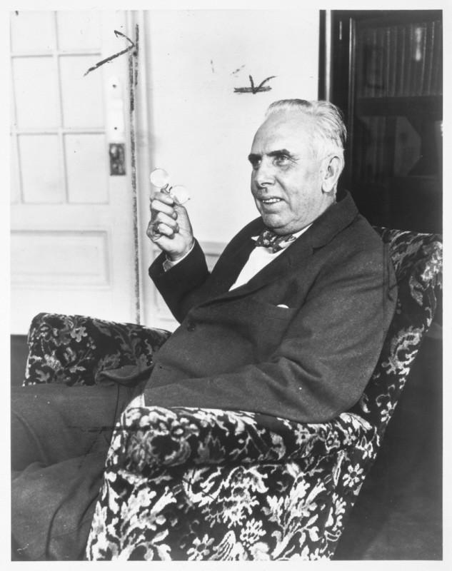 Portrait of Theodore Dreiser.