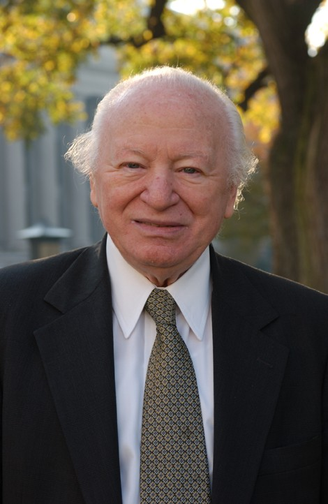 """<p>Portrait of Benjamin Meed,leading advocate for Jewish <a href=""""/narrative/72"""">Holocaust</a> survivors and a founder of the <a href=""""/narrative/7511"""">United States Holocaust Memorial Museum</a>.</p>"""