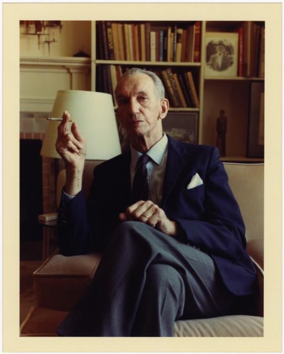 Portrait of Jan Karski in Bethesda, Maryland, ca 1988 [LCID: 55331]