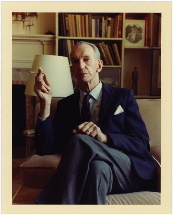 Portrait of Jan Karski in Bethesda, Maryland, ca 1988 [LCID: 55331]