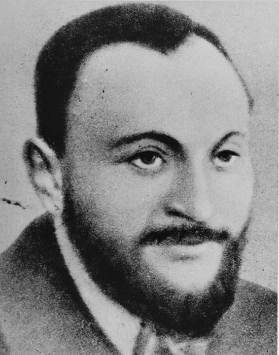 <p>Portrait of Rabbi Shimon Hoberband, who was involved in the activities of Emanuel Ringelblum's Oneg Shabbat archives in the Warsaw ghetto.</p>