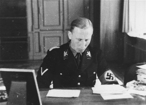 SS General Reinhard Heydrich. Germany, date uncertain. [LCID: 79522]