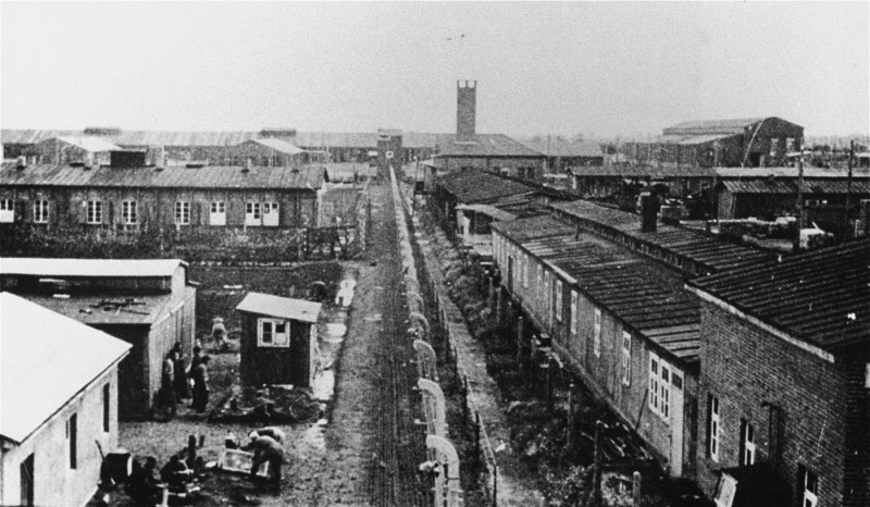 View of Neuengamme concentration camp. Germany, wartime. [LCID: 83540]