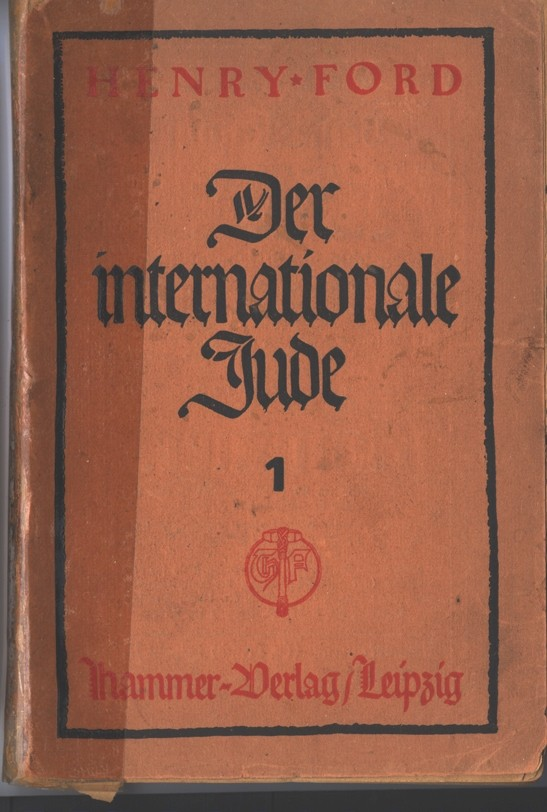 By 1922, The International Jew was already in its 21st printing in Germany. [LCID: p0005]