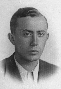Arie Wilner, a founder of the Warsaw ghetto's Jewish Fighting Organization (ZOB). [LCID: 77615]
