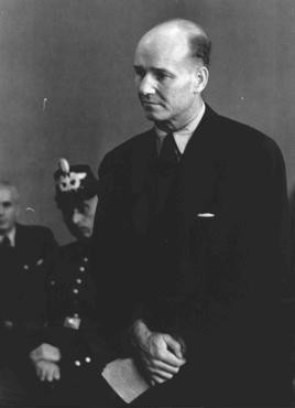 Carl Heinrich Langbehn, an attorney who was slated for a possible cabinet seat had the July 1944 attempt on Hitler's life succeeded, ... [LCID: 15883]