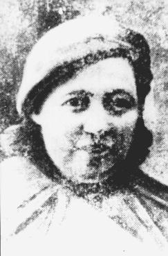 Tsila Botvinnik, a Jewish partisan active in the Minsk ghetto underground against the Germans. [LCID: 25169]