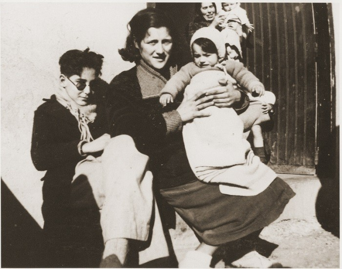In 1939, some 500,000 Spanish Republicans fled to France, where many, including this family, were interned in camps.