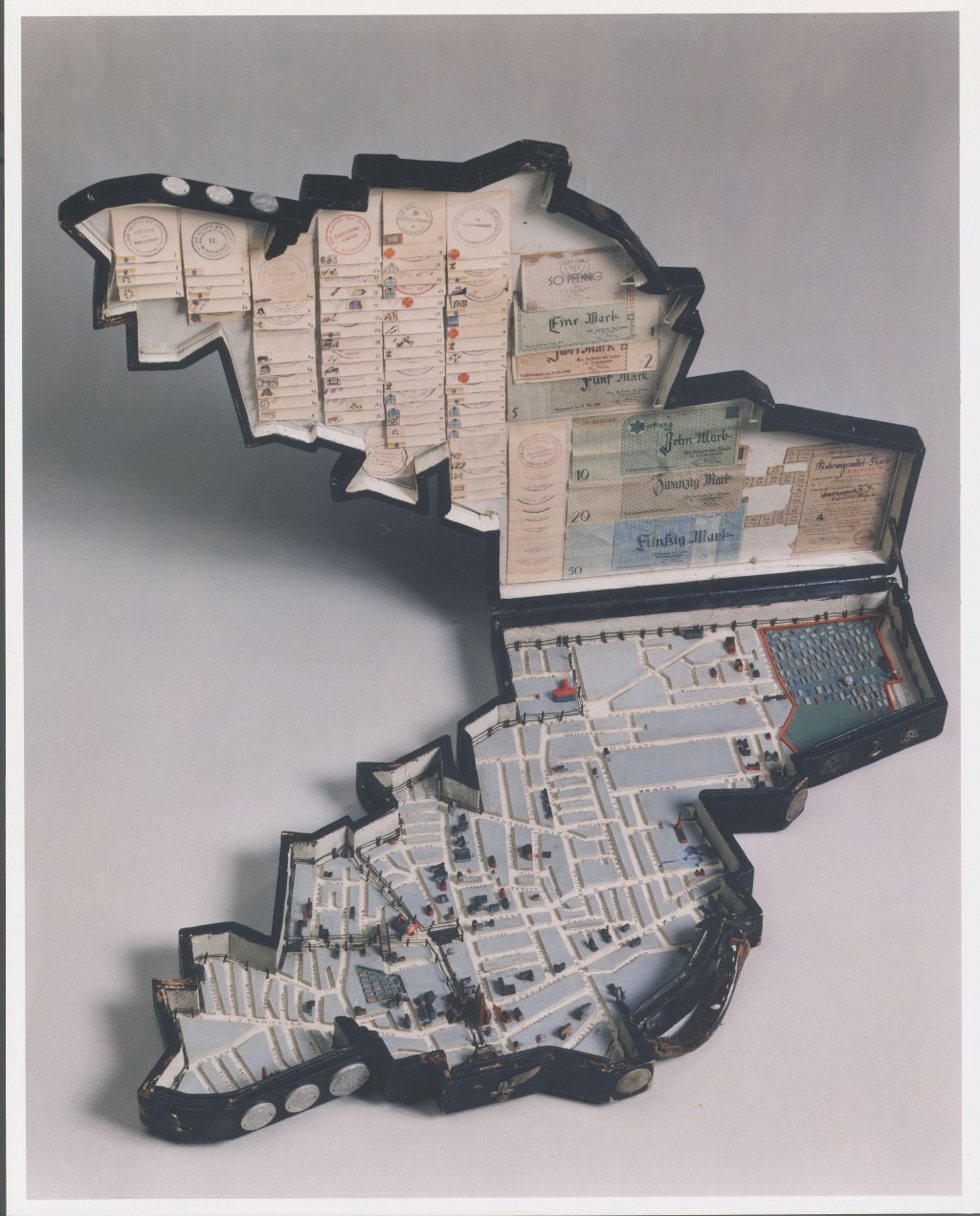 Model of the Lodz ghetto [LCID: 2004ed9i]