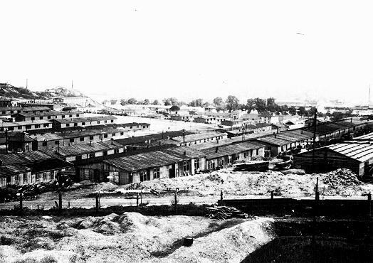 View of a section of the Plaszow camp. Plaszow, Poland, 1944. [LCID: 08864]