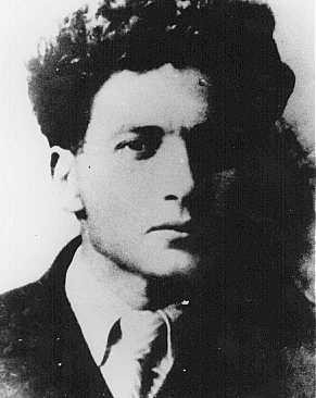 Mikhael Guebelev, organizer of the underground group in the Minsk ghetto. [LCID: 25168]