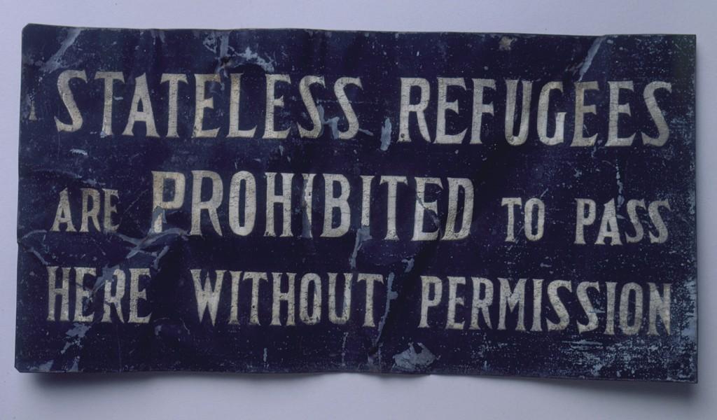 Sign from Shanghai Ghetto [LCID: 2002ysau]