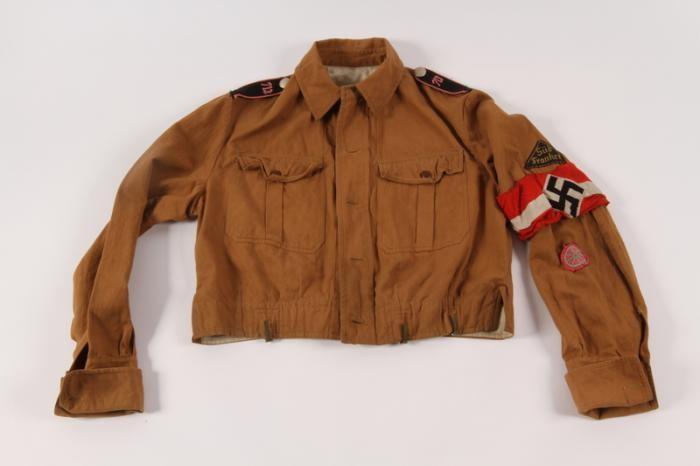 Hitler Youth jacket with insignia and armband