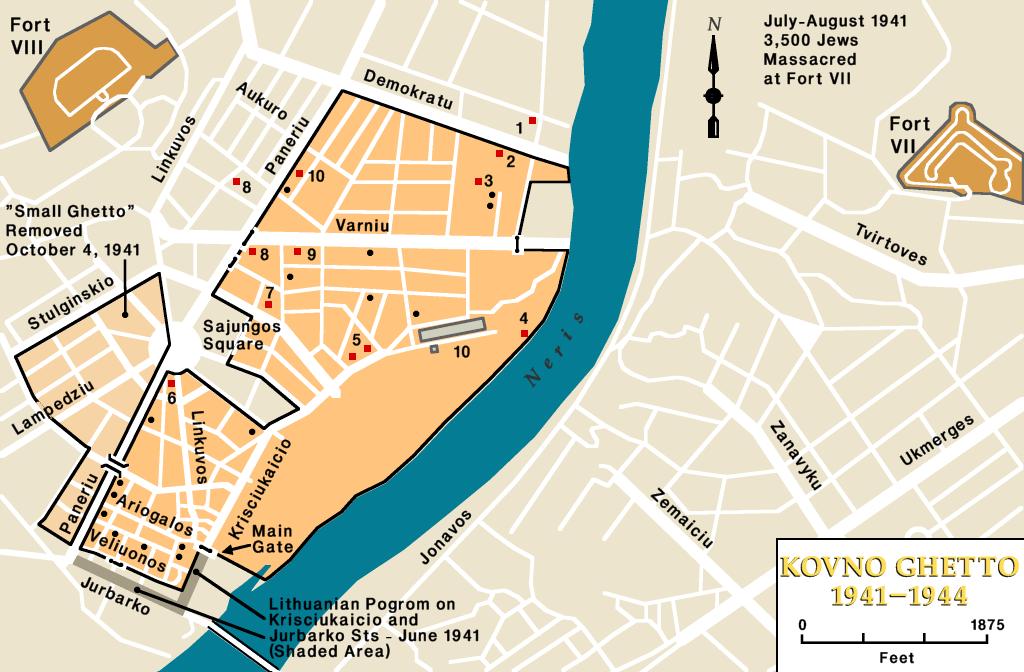 Kovno ghetto, 1941-1944
