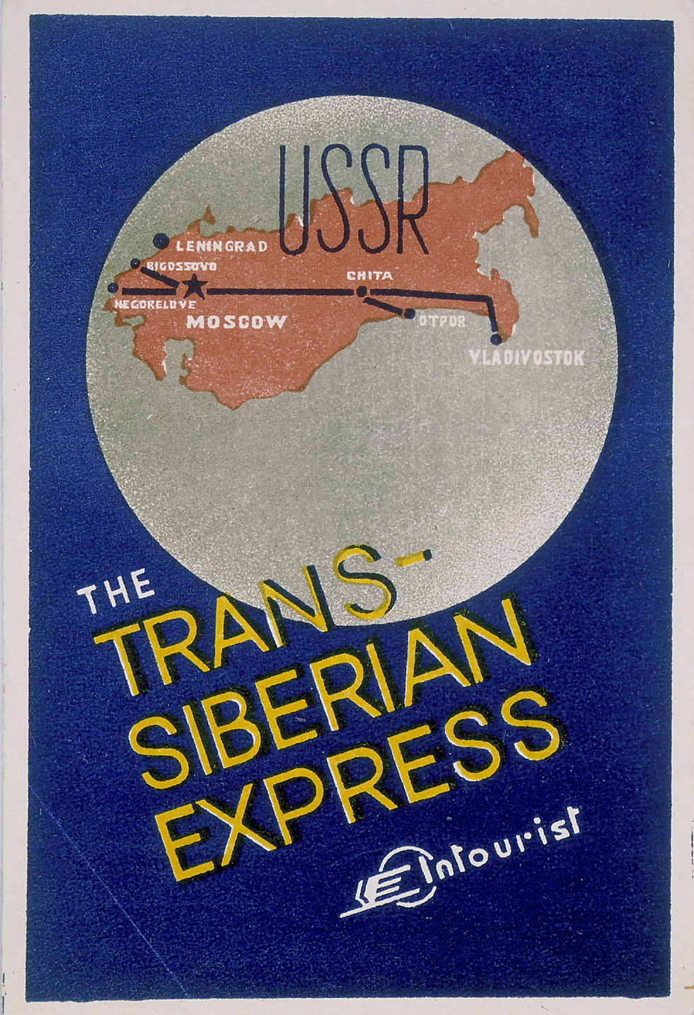 Suitcase label for Trans-Siberian Express [LCID: 2000si34]