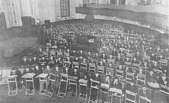 Polish yeshiva students in Shanghai.