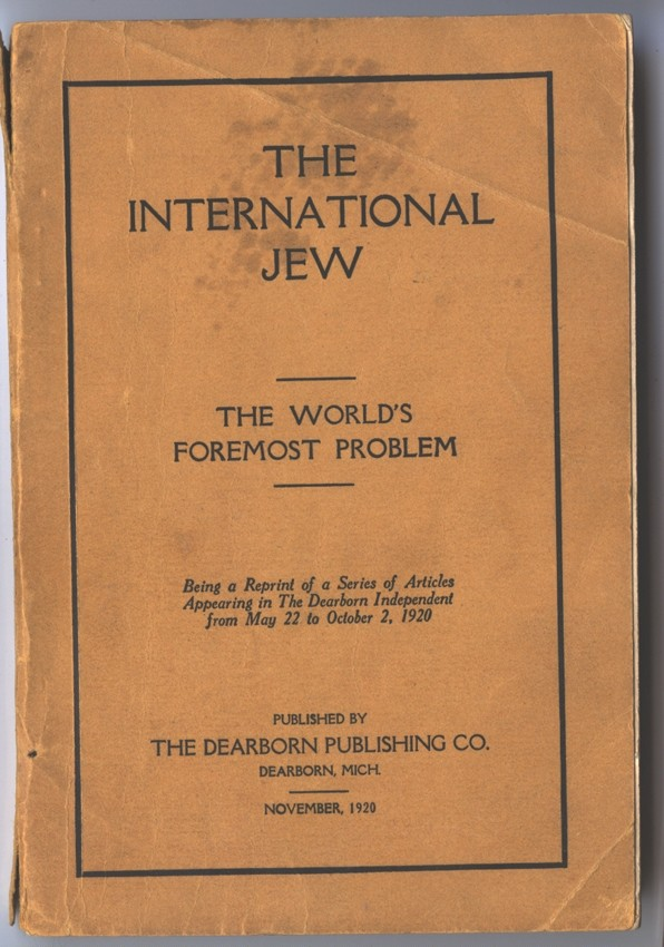 The International Jew, based largely on the Protocols, sold more than 500,000 copies and was translated into at least 16 languages. [LCID: p0004]