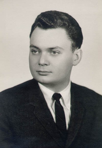 Thomas as a law student, 1959-1960.