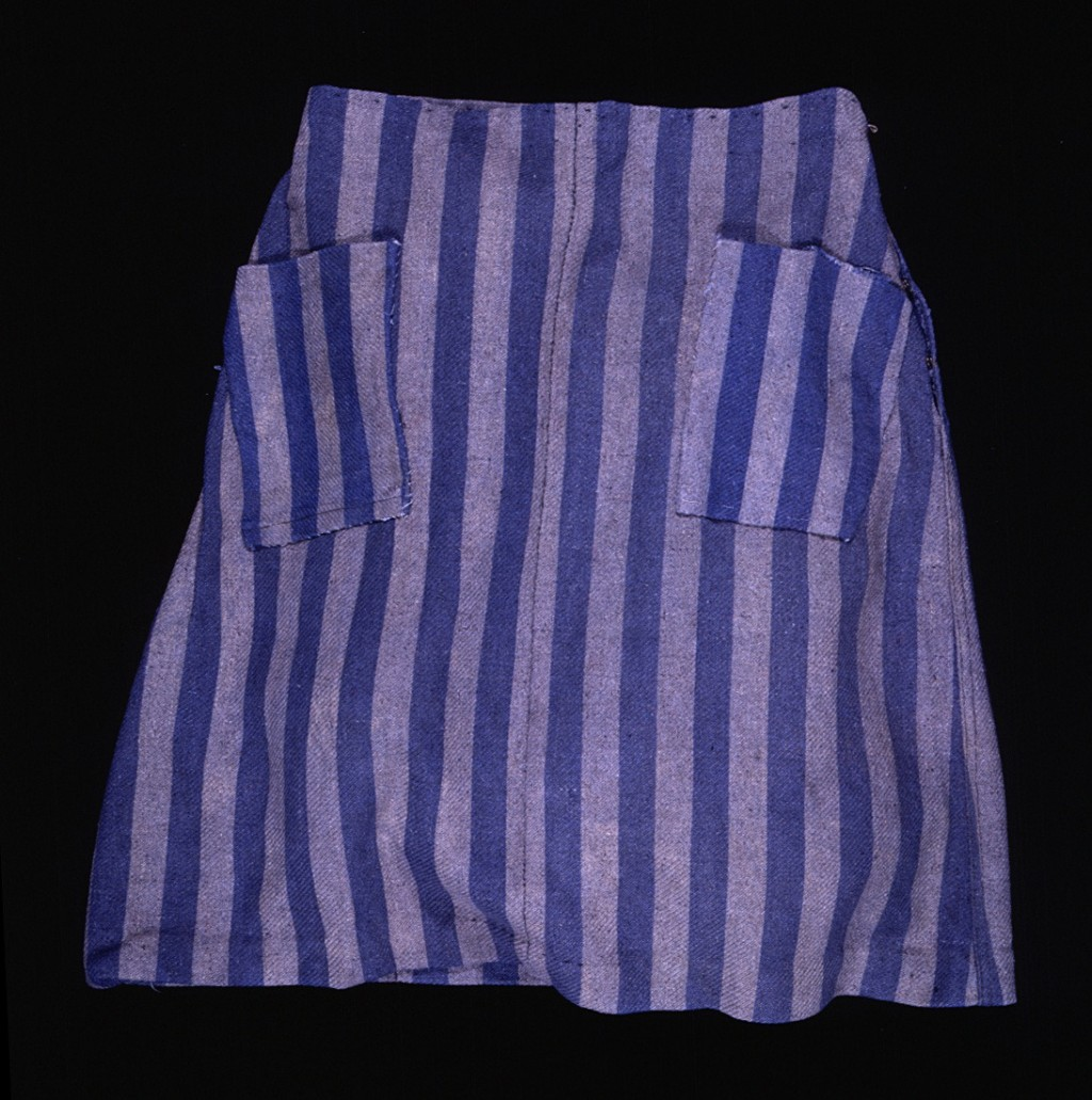Hana Mueller's concentration camp skirt [LCID: 1998zifv]