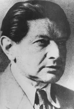 Otto Zucker, member of the Jewish leadership of Czechoslovakia during the Nazi occupation. [LCID: 40214]