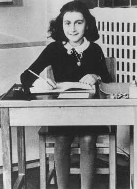 <p>Anne Frank at 11 years of age, two years before going into hiding. Amsterdam, the Netherlands, 1940.</p>