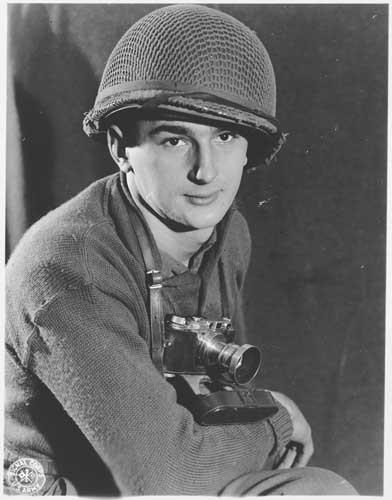 Portrait of US Army Signal Corps photographer J Malan Heslop. [LCID: 62745]