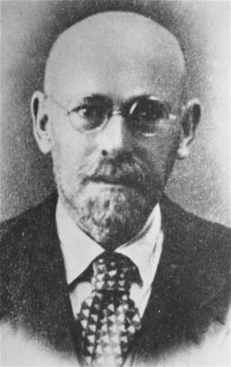 Portrait of Janusz Korczak