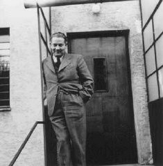 "<p>Dr. Joseph Jaksy, who rescued 25 Jews during the war. He provided them with hiding places, money, medicine and forged identification papers. Jaksy was named ""Righteous Among the Nations."" Czechoslovakia, prewar.</p>"