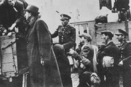 <p>Deportation of Slovak Jews. Stropkov, Czechoslovakia, May 21, 1942.</p>