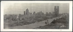"<p>This 1919 photograph shows <a href=""/narrative/28"">World War I</a> destruction in Ypres, Belgium.</p>"