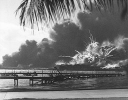 <p>Pearl Harbor, December 7, 1941.</p>