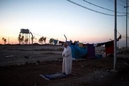 Internally displaced persons (IDP) camp near Erbil, Iraqi Kurdistan