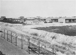 "<p>A view of the <a href=""/narrative/4469"">Westerbork</a> camp, the <a href=""/narrative/5566"">Netherlands</a>, between 1940 and 1945.</p>
