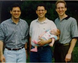Thomas's three sons and granddaughter