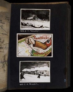 Beifeld album page about Soviet counteroffensive