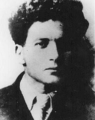 """<p>Mikhael Guebelev, organizer of the underground group in the <a href=""""/narrative/3605/en"""">Minsk</a> ghetto. Soviet Union, date unknown.</p>"""
