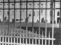 View of the Les Milles internment camp. France, date uncertain. [LCID: 88824]