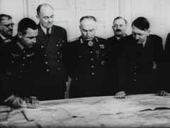 Ion Antonescu meets with Hitler