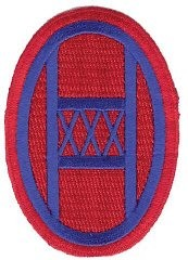 "<p>Insignia of the <a href=""/narrative/11570/en"">30th Infantry Division</a>. The nickname of the 30th Division was Old Hickory, named after President Andrew Jackson.</p>"