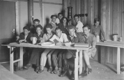 Youth at vocational training in Kloster Indersdorf