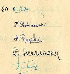 El 23 de septiembre de 1941, durante el Año Nuevo Judío (Rosh Hashanah), los niños escolarizados del gueto de Lodz le obsequiaron ...