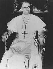 <p>Pius XII, pope from 1939 to 1958. Vatican City, 1939.</p>