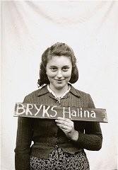 Halina Bryks in the Kloster Indersdorf children's center
