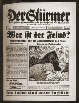 Der Stuermer, number 29, July 1934 [LCID: 20064qt9]