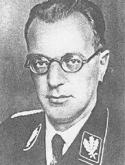 "<p>Austrian Nazi Arthur Seyss-Inquart. After the German invasion of the <a href=""/narrative/5566/en"">Netherlands</a> in May 1940, a civil administration was installed under SS auspices. Seyss-Inquart was appointed Reich Commissar.</p>"