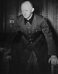 "<p><a href=""/narrative/9934/en"">Defendant</a> Alfred Jodl during the International Military Tribunal at Nuremberg. Jodl was Chief of the Armed Forces <a href=""/narrative/12011/en"">High Command</a> Operations Staff. </p>"