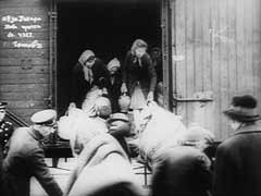 <p>Jews were deported from Kavala, Seres, and Drama in Bulgarian-occupied Macedonia. Some 3,000 Jews were taken to Drama and herded onto trains without food or water for transport to a camp in Gorna Dzumaya. The Jews were probably then taken to the Bulgarian port of Lom on the Danube River, where they boarded ships for Vienna. From there, the Nazis deported them to the Treblinka killing center.</p>