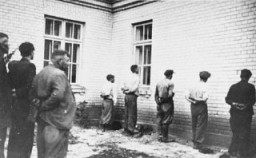 "Polish hostages arrested during the ""pacification"" of Bydgoszcz"